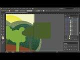 Создание анимации векторного автомобиля в After Effects. Урок 4